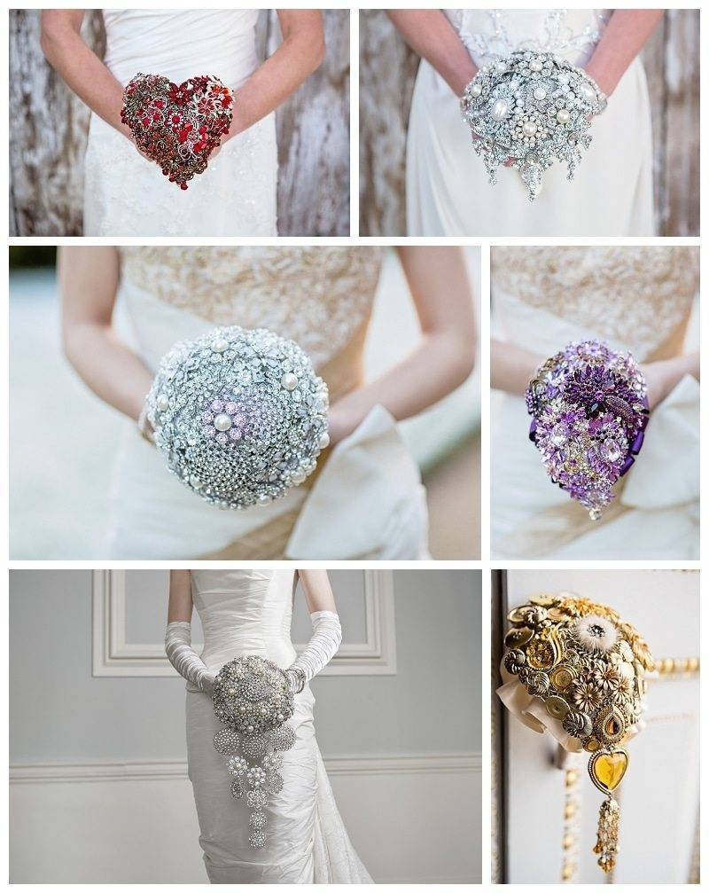 Brooch Bouquets by The Finer Details