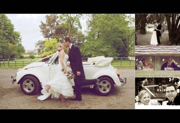 Vintage Weddings the car