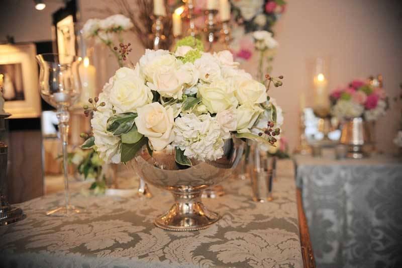Wedding Rose Bowl