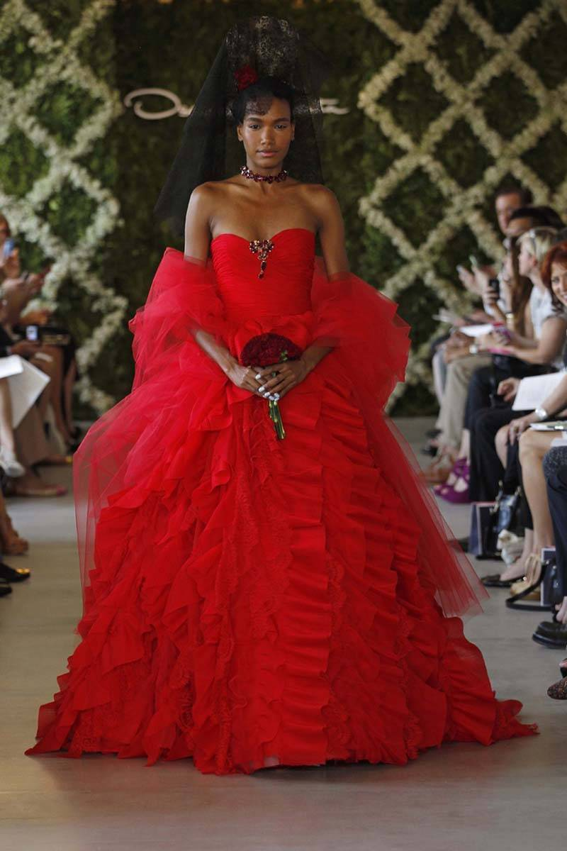 Oscar De La Renta 2013 Bridal Collection