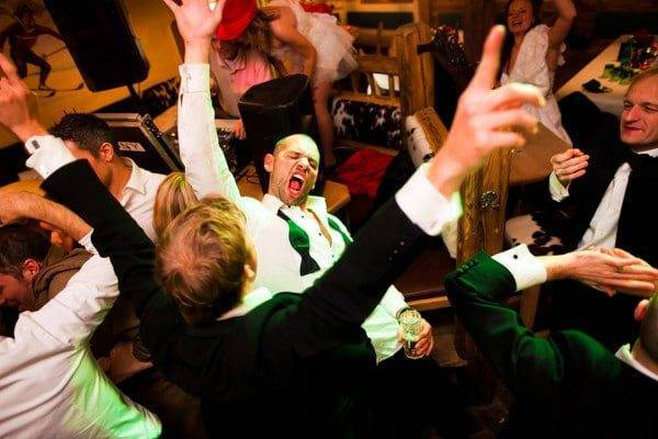 Dancing The Night Away At The Wedding
