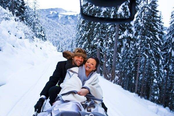 Winter Wonderland Wedding In Austria