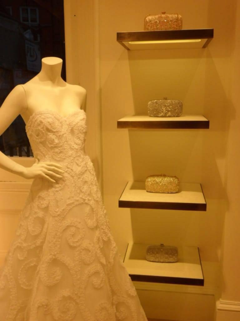 Oscar de la Renta Bridal Gown