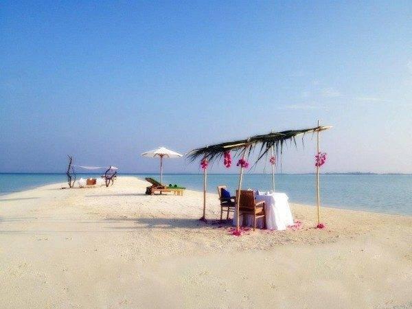 Olhuveli Beach & Spa Resort in the Maldives