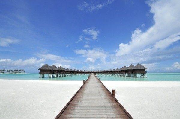 Olhuveli Beach & Spa Resort in the Maldives - Water Villas