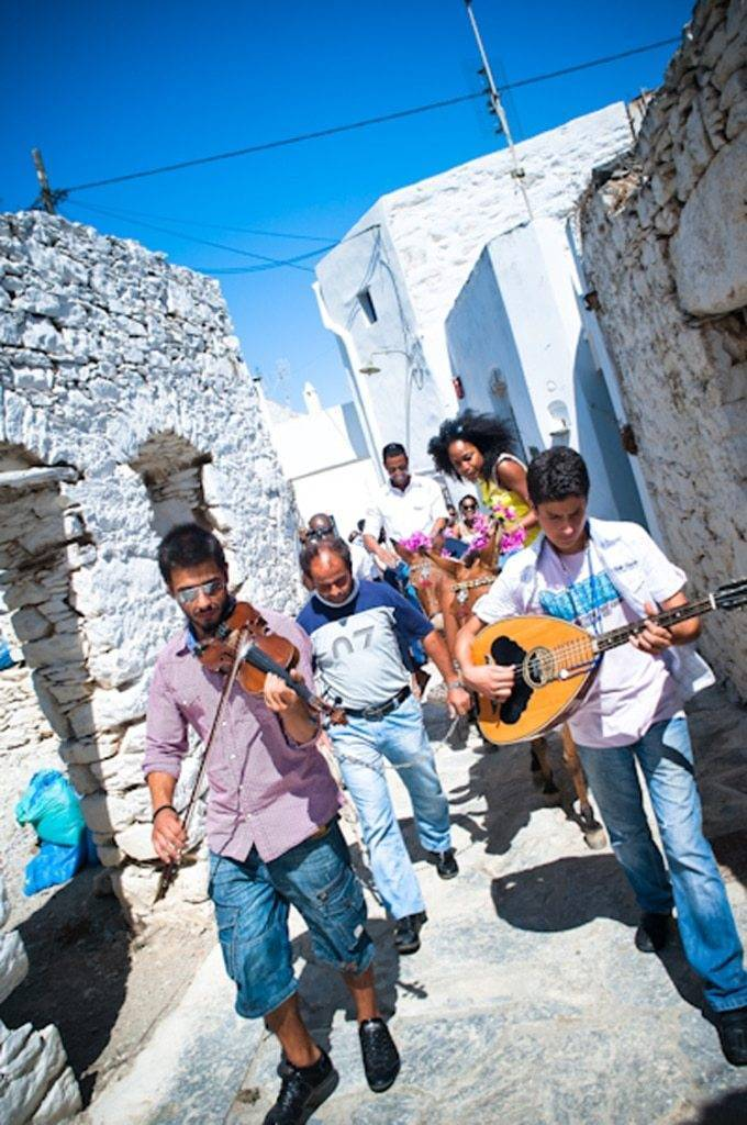 Michelle And Zaheer's Wedding In The Greek Island Amorgos