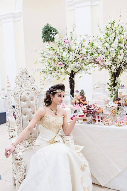 Majestic Splendour Photo Shoot At Blenheim Palace