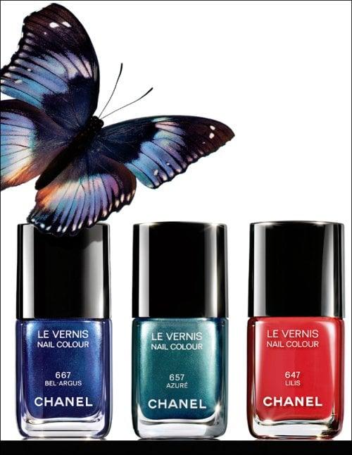 L'Eté Papillon De Chanel For Summer 2013
