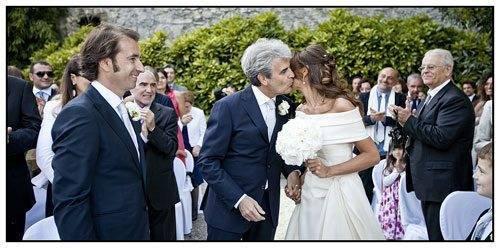 Lake Como Weddings - A Fathers Kiss