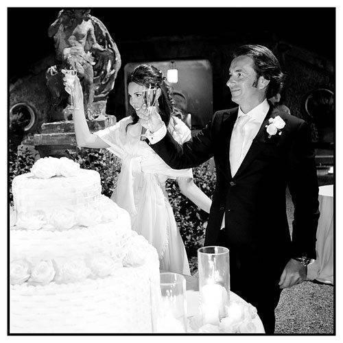 Lake Como Weddings - Cake Cutting