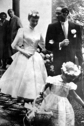 Audrey Hepburn On Her Wedding Day