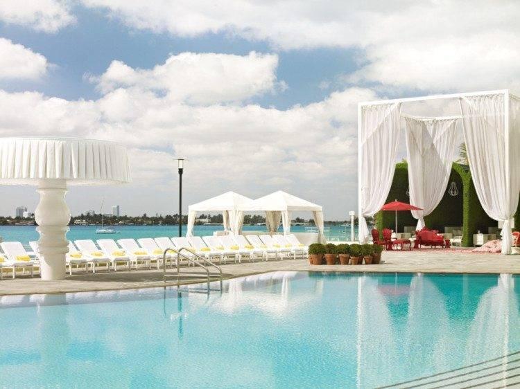 Morgans Hotel Pool Miami