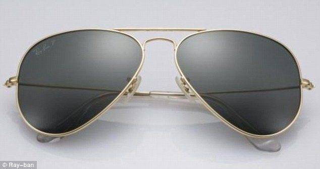 Ray-Ban 18 Karat Gold Aviators