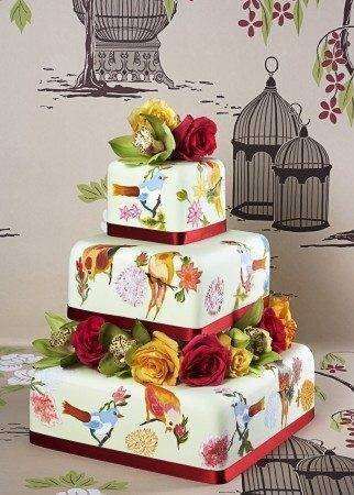 French Wedding Cakes