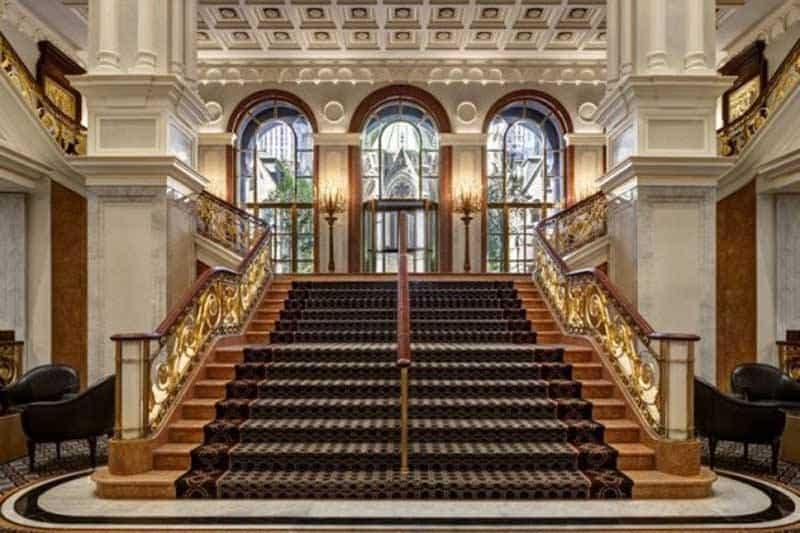 New York Palace Lobby