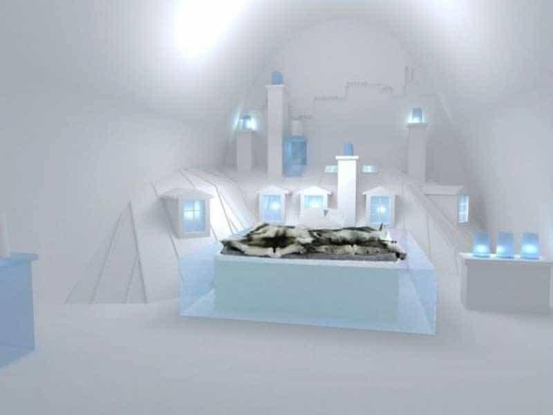 Honeymoon Ice hotel