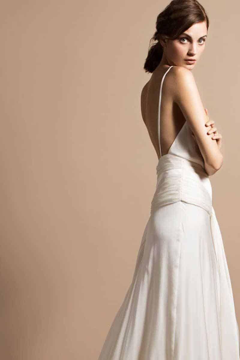 Parisian Chic Wedding Dress : Parisian chic bridal gowns by delphine manivet