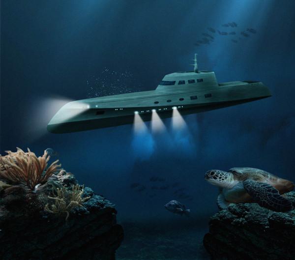 Lovers Deep Luxury Submarine