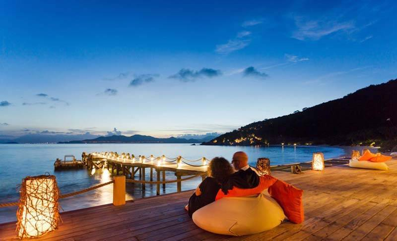 Six Senses Spa and Resort in Ninh Van Bay Vietnam,
