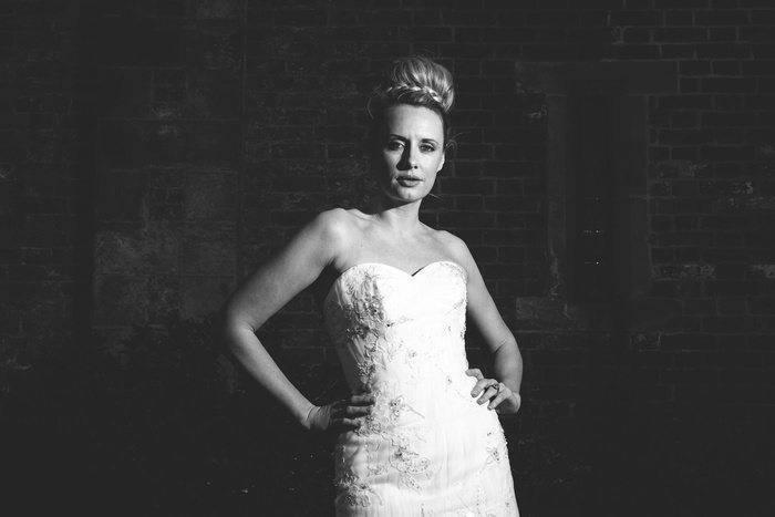 Bespoke bridal gowns by Amanda Wyatt