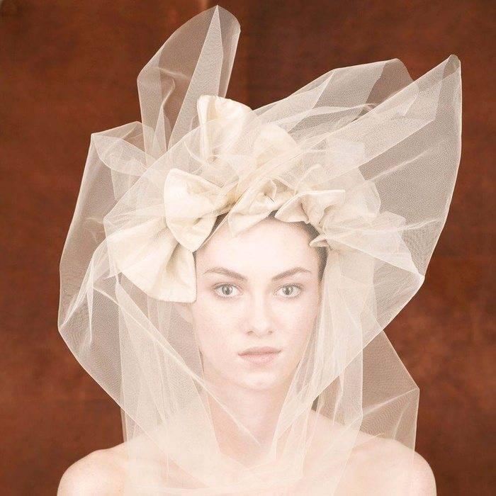 Silk Bridal Head Dress