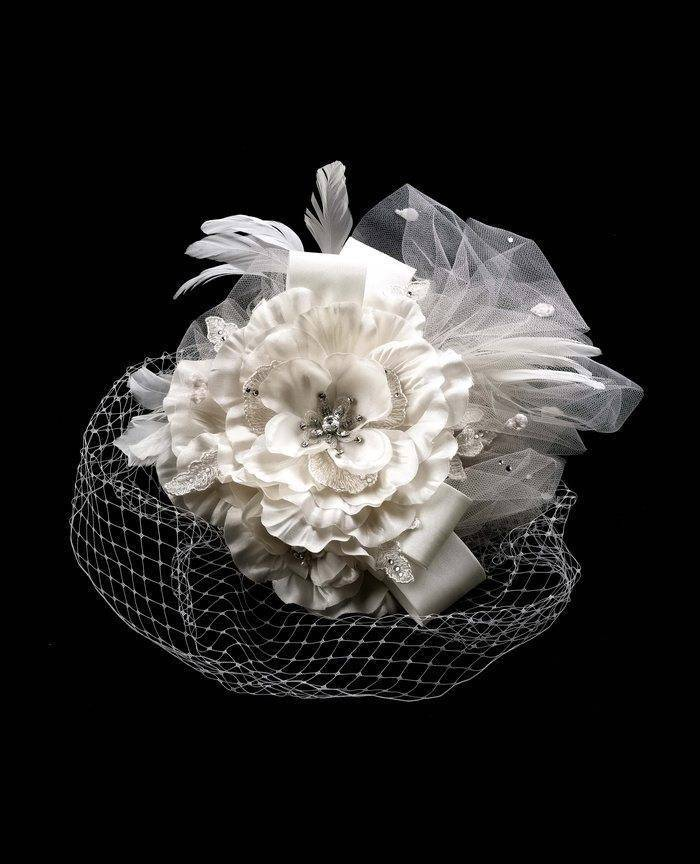 Floral Bridal Head Accessory