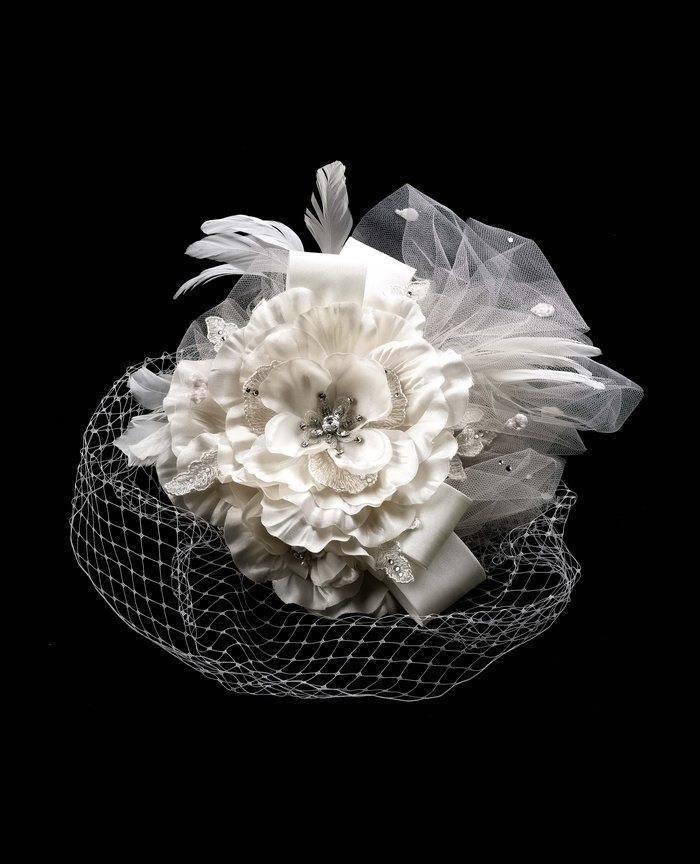 Floral Bridal Head Accessory