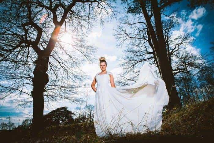 Iviry Wedding Gown by Amanda Wyatt