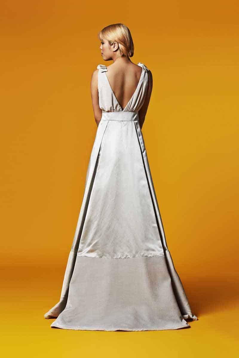 Susie Stone Silk Wedding Gown