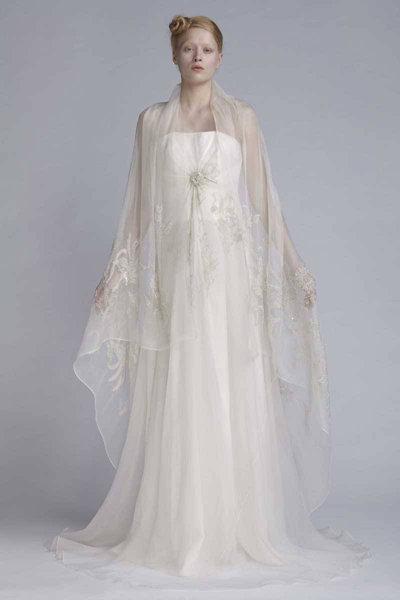 Akira Isogawa Autumn Bridal Gowns