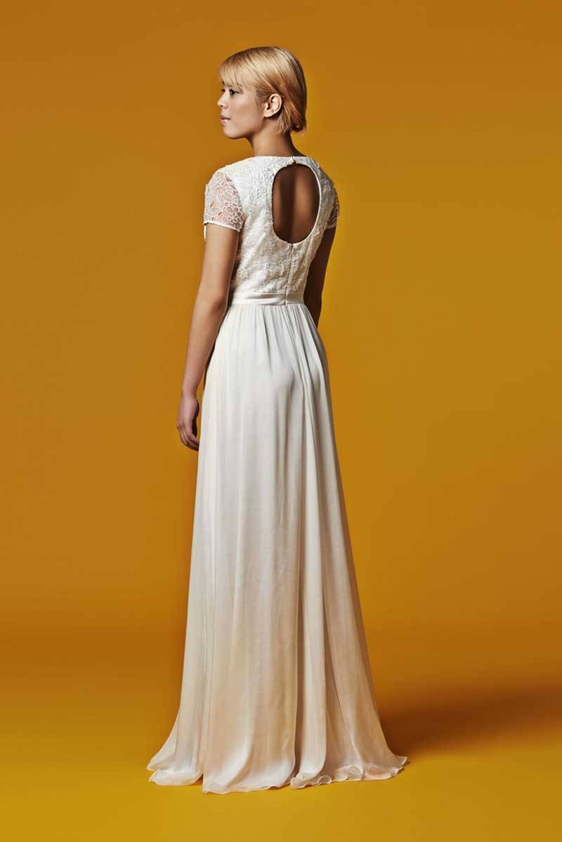 Susie Stone Silk Wedding Dress