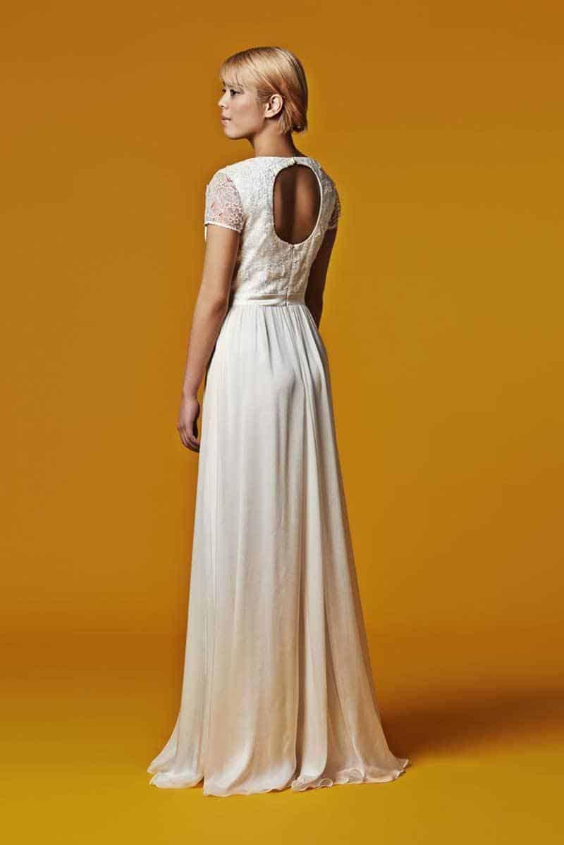 Susie Stone Silk Wedding Dress