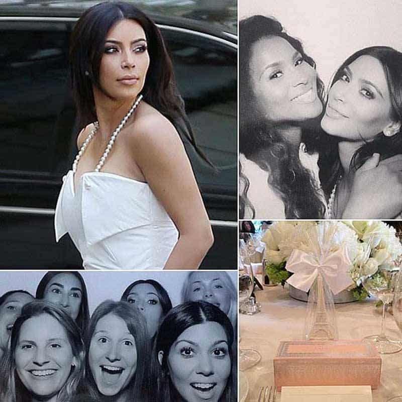 Kim Kardashian Bridal Shower