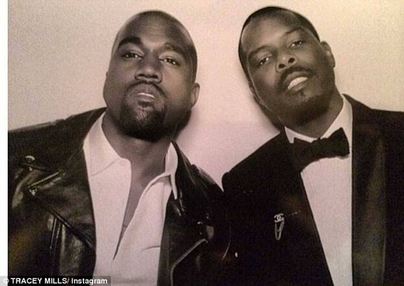 Kanye West in Photo Booth