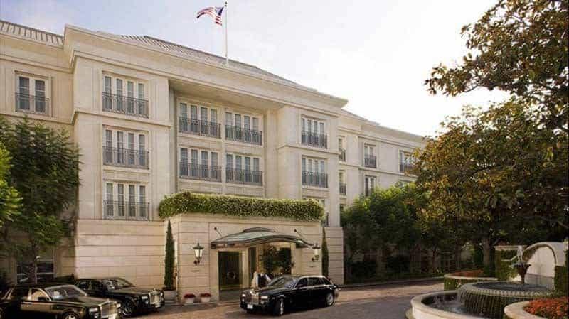 Peninsula Hotel in Beverly Hills