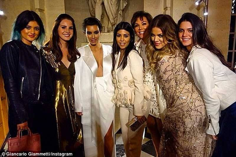 Kim Kardashian Family at Wedding