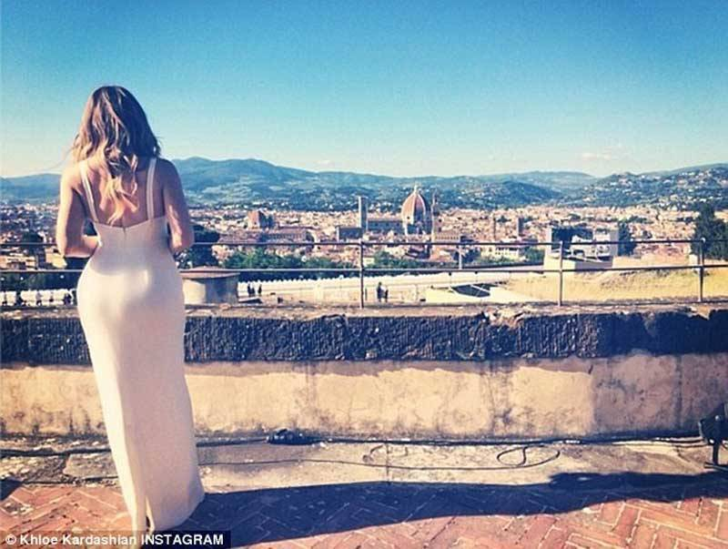 Kim Kardashian Wedding Gown