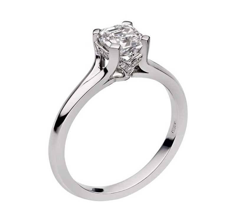 Signiture Simple Diamond Ring