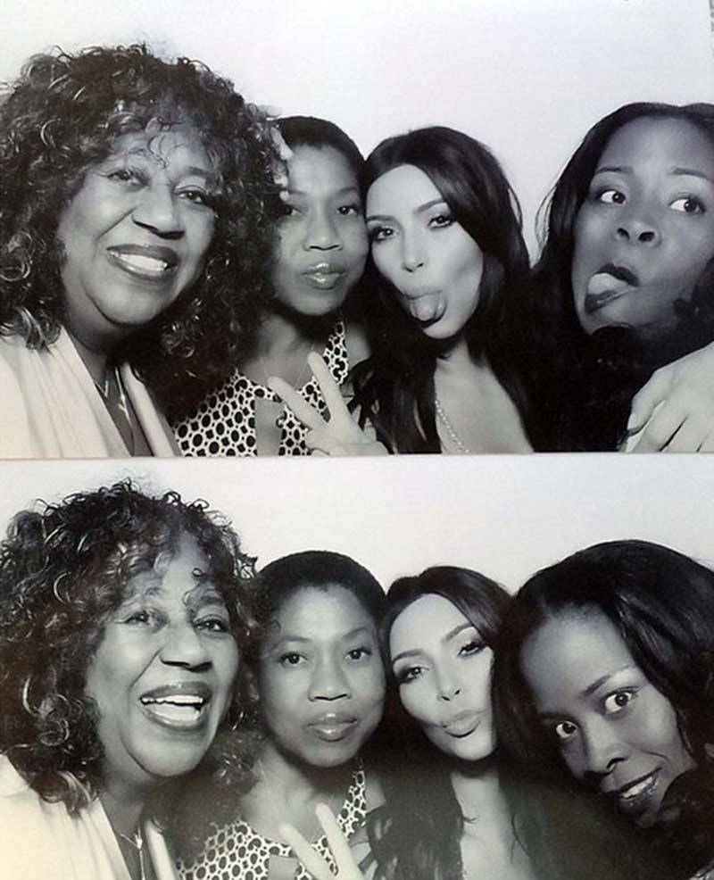 Kim Kardashian Bridal Shower Photobooth