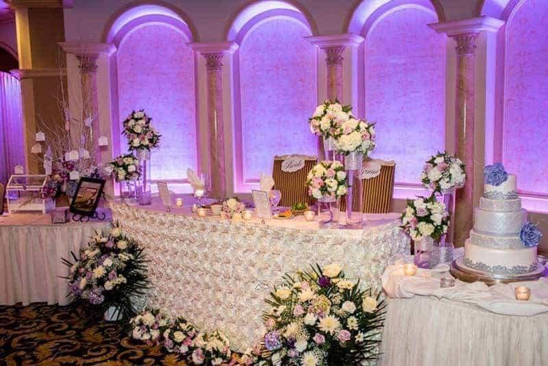 Luxury Wedding Table Decoration