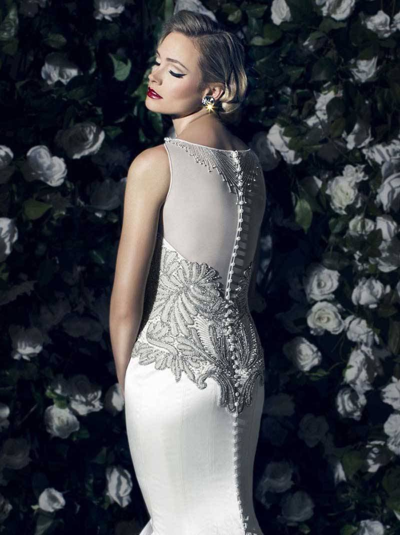 Victor Harper Silk Wedding Gowns