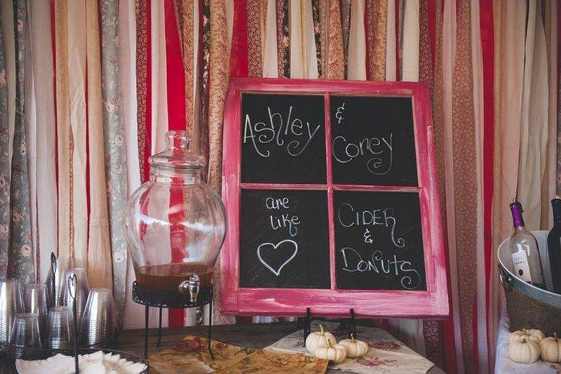 Wedding Black Board