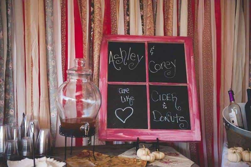 Wedding Black Board