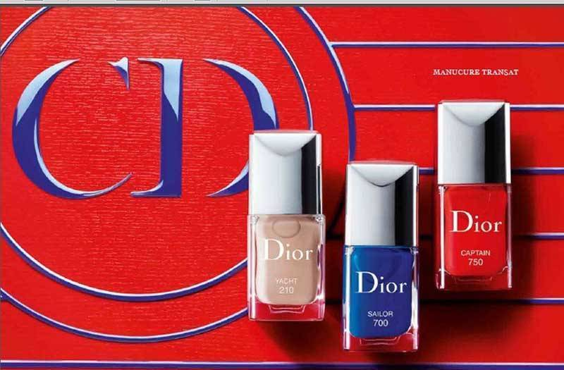 Dior Summer Transat Nail Varnish Collection