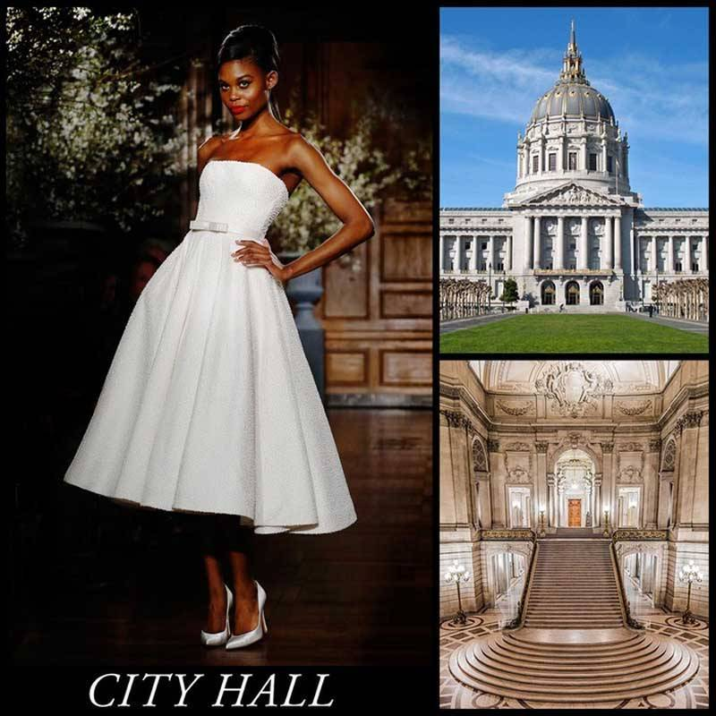 City Wedding Dresses