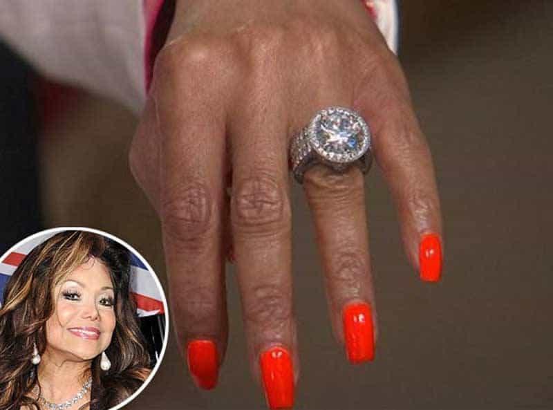 La Toya Jackson 17.5 Carat Diamond Engagement Ring