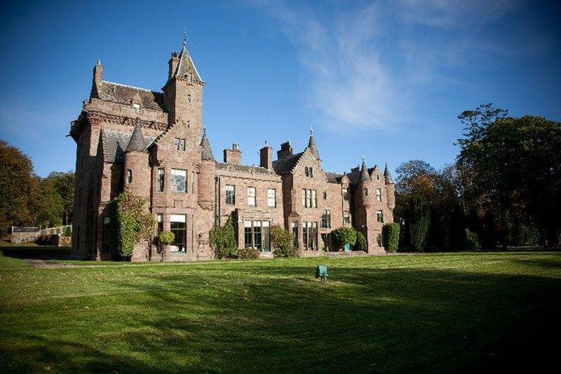 Guthrie Castle (by Angus Forbes)