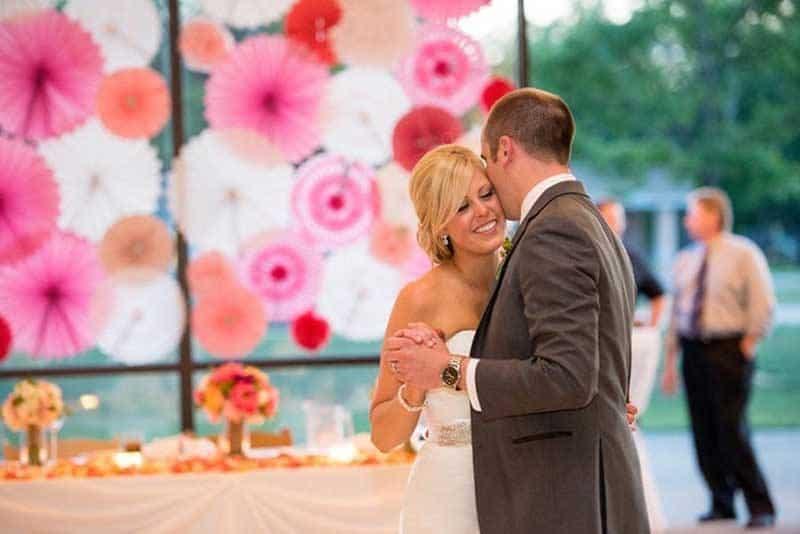 Pink Wedding Pom Poms