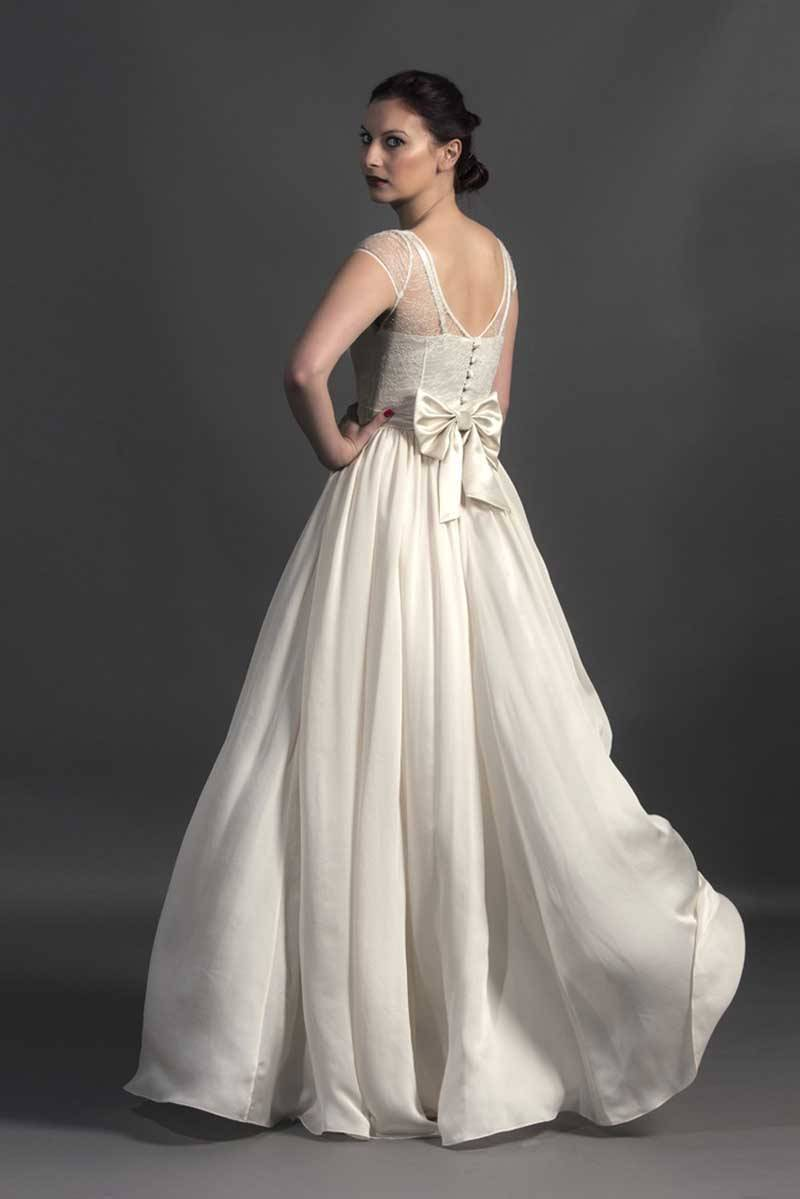 Susie Stone - Vintage Gown back