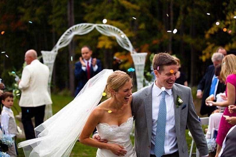 Autumnal Real Wedding